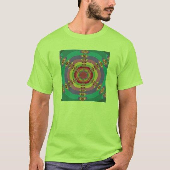 Multi Sun Fractal T-Shirt