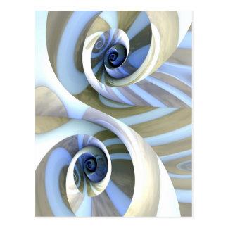 Multi-Swirl Postcard