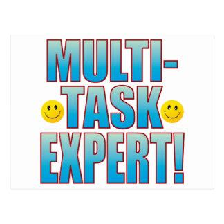 Multi Task Life B Postcard