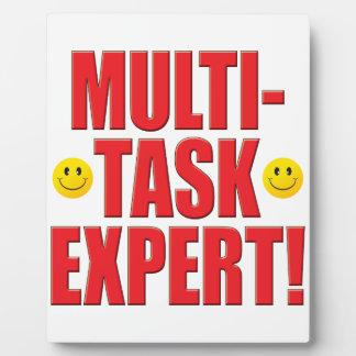 Multi-Task Life Display Plaques