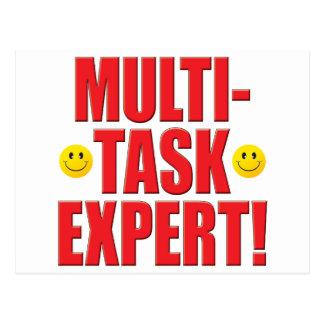 Multi-Task Life Postcard