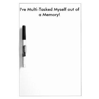 Multi-Tasker Dry-Erase Board