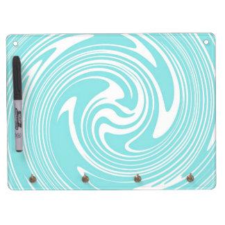 Multi-Tasker Dry Erase Board With Keychain Holder