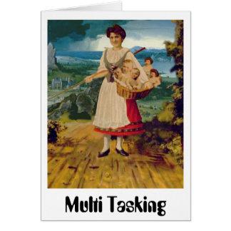 Multi Tasking Greeting Card