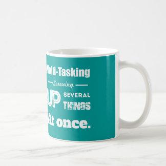 Multi Tasking Definition Coffee Mugs