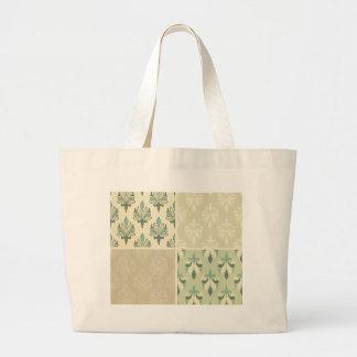 Multi teal color fall damask royal chic elegant bags