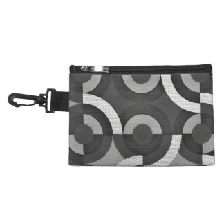 Multi Texture Look Geometric Mod Circles Accessory Bags
