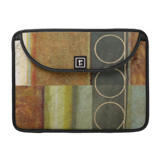 Multi-textured Abstract Painting by Vision Studio MacBook Pro Sleeves