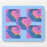 Multi-Tie Dye Mousepad