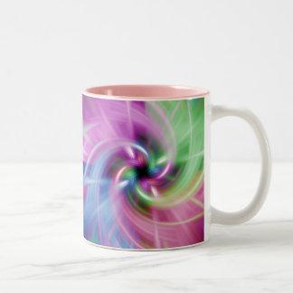 Multi Twist Two-Tone Coffee Mug