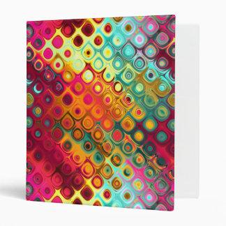 Multi Vibrant Tropical Colored Diamonds & Target Binder