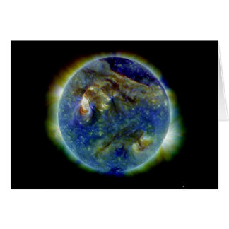 Multi-wavelength Ultraviolet Snapshot of the Sun Card
