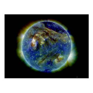 Multi-wavelength Ultraviolet Snapshot of the Sun Postcard