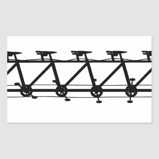 Multiciclo Rectangular Pegatinas