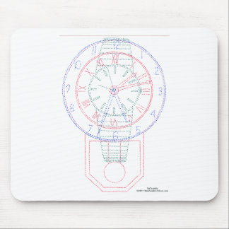 Multiclock Mouse Pad