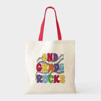 Multicolor 2nd Grade Rocks Tote Bag