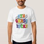 Multicolor 5th Grade Rocks Tshirt