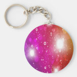 Multicolor Abstract Art Keychains