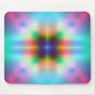 Multicolor Abstract Design Mouse Pad