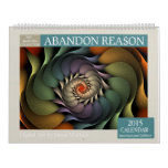 Multicolor Abstract Fractal 2015 Calendar
