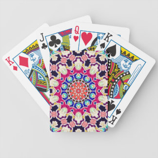 Multicolor Abstract Kaleidoscope Mandala Bicycle Playing Cards