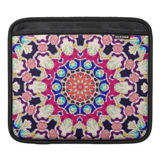 Multicolor Abstract Kaleidoscope Mandala Sleeve For iPads