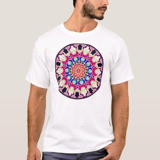 Multicolor Abstract Kaleidoscope Mandala T-Shirt