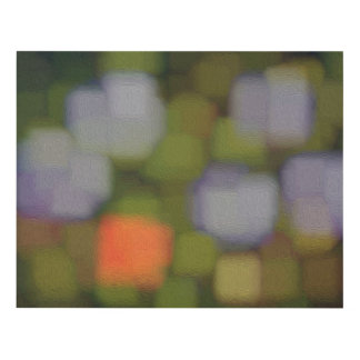 Multicolor Abstract Painting Panel Wall Art