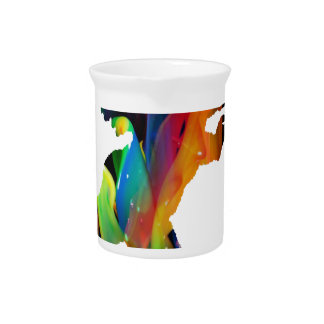MULTICOLOR ANGEL PRODUCTS BEVERAGE PITCHERS