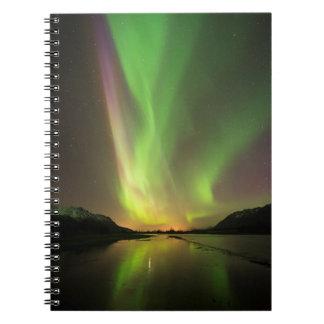 Multicolor Aurora Notebook