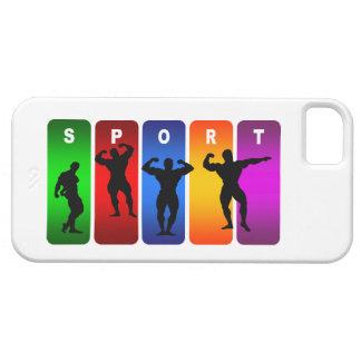 Multicolor Bodybuilding iPhone 5 Case
