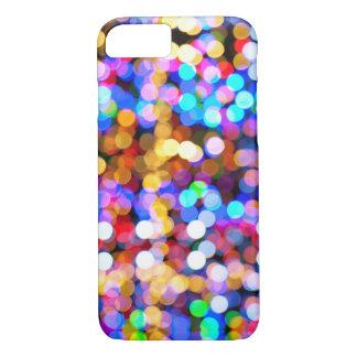 Multicolor Bokeh iPhone 7 Case