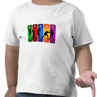 Multicolor Boxing Emblem T Shirt