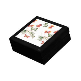 MultiColor Butterflies Art Keepsake Box