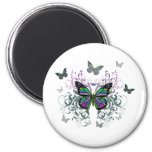 MultiColor Butterfly Magnet