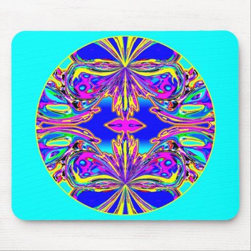 """""""Multicolor Butterfly Mandala"""" Mousepad"""