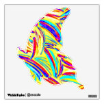 MULTICOLOR BUTTERFLY WALL DECAL