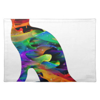 MULTICOLOR CAT PRODUCTS PLACEMAT