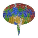 MULTIcolor CHAKRA : Nature Wheel Energy Cake Pick