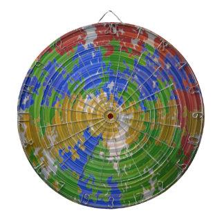 MULTIcolor CHAKRA : Nature Wheel Energy Dartboard