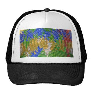 MULTIcolor CHAKRA : Nature Wheel Energy Trucker Hat