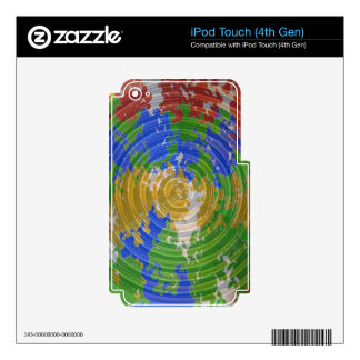 MULTIcolor CHAKRA : Nature Wheel Energy iPod Touch 4G Skin