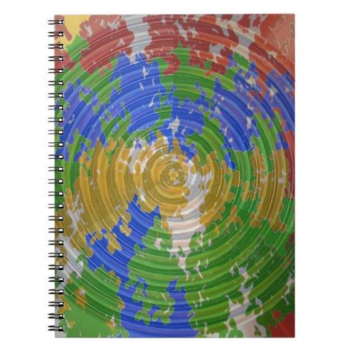 MULTIcolor CHAKRA : Nature Wheel Energy Note Books