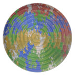 MULTIcolor CHAKRA : Nature Wheel Energy Plate
