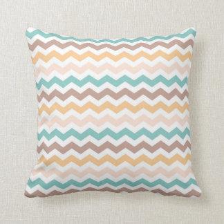 Multicolor Chevron Decorative Throw Pillow