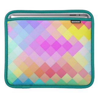 Multicolor Chevron Seamless Pattern 2 iPad Sleeve