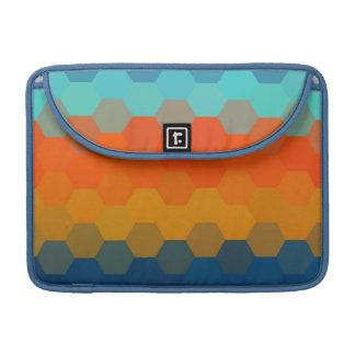Multicolor Chevron Seamless Pattern 4 Sleeve For MacBook Pro
