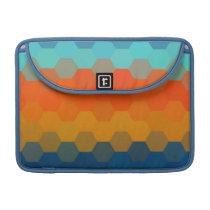 Multicolor Chevron Seamless Pattern 4 Sleeve For MacBooks