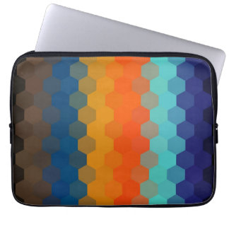 Multicolor Chevron Seamless Pattern 5 Laptop Computer Sleeve