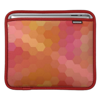 Multicolor Chevron Seamless Pattern 6 iPad Sleeve
